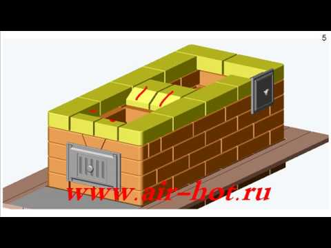 Типовая отопительная печь ПТО-3100