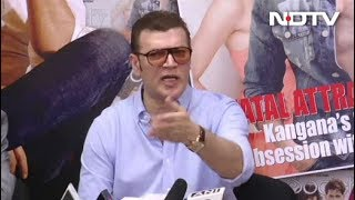 Aditya Pancholi Slams Kangana Ranaut At A Press Conference