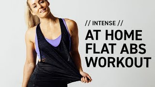 Intense At Home Ab Workout