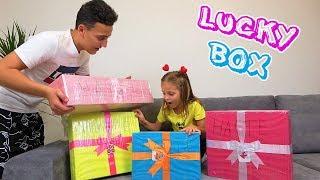 ПОДАРКИ для Насти Что внутри коробок с сюрпризами от Lucky Box