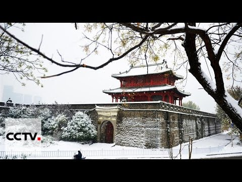 Frost covers northern Jilin Province