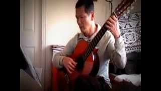 Ngan Cach (Separate Ways)  Vo Ta Han arrg. guitar  played by Long Nguyen