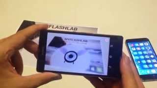 Adobe Air Native extension supporting Augmented Reality 3D models with animation