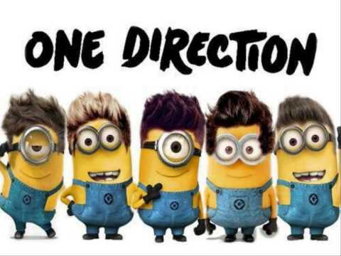One Direction - Rock Me (Minions Voice)