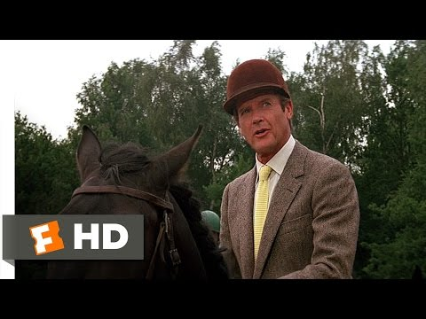 A View to a Kill (4/10) Movie CLIP - Deadly Steeplechase (1985) HD