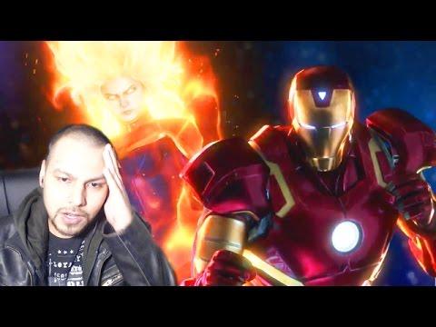 Marvel Vs Capcom Infinite Reveal REACTION! - Marvel Vs Capcom Infinite Iron Man & Mega Man X