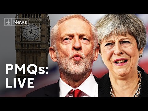 PMQS Live: Theresa May faces Jeremy Corbyn #BREXIT