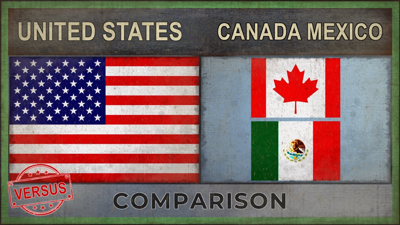 United States Vs Canada Mexico Military Ranking 2018 Versus