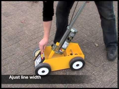 Parking Stripe Paint Hand Spray