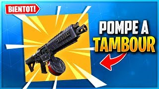 NEW POMPE A TAMBOUR CHEATÉ on Fortnite Battle Royale!