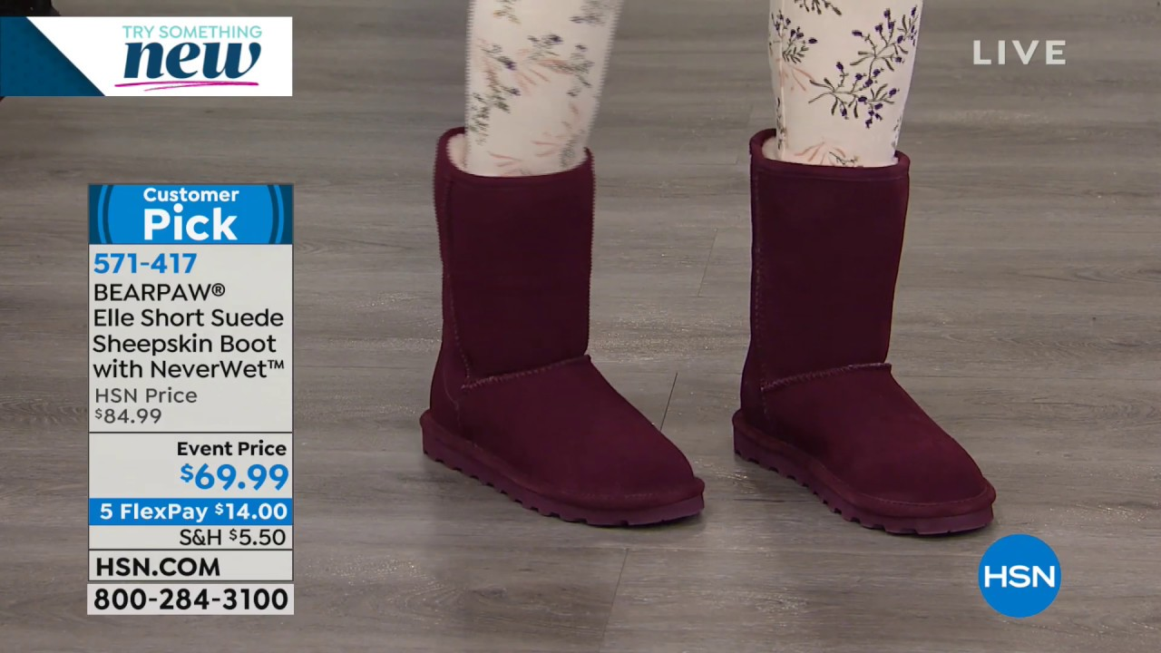 BEARPAW YOUTH GIRL/'S ELLE WINTER BOOTS