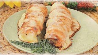 Как жарить куриное филе в сухарях?
