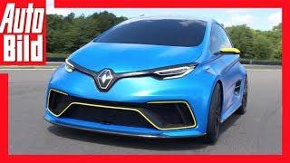 Renault Zoe e-Sport Concept (2017) - E-Renault als Porsche-Killer