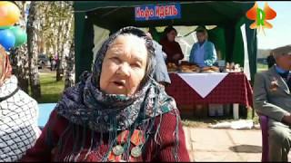 9 мая день победы  село Кандры. Жители села на параде