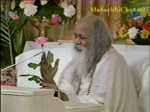 Maharishi explains to children what Transcendental Meditation is.