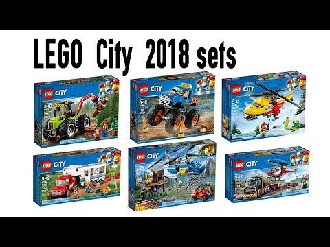 lego city 2018 sets official images youtube. Black Bedroom Furniture Sets. Home Design Ideas