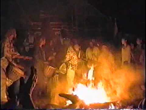 Montana Rainbow Gathering 2000 Rainbow Family drumming 2009
