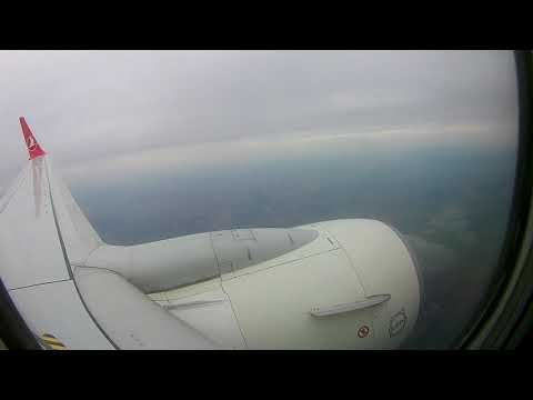 BOEING 737-800 LANDING - Turkish Airlines - LVIV AIRPORT (Danylo Halytskyi)