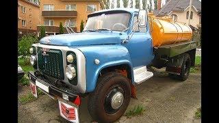 Дед всплакнул когда его внук приехал на его же старом но уже восстановленном ГАЗ-53