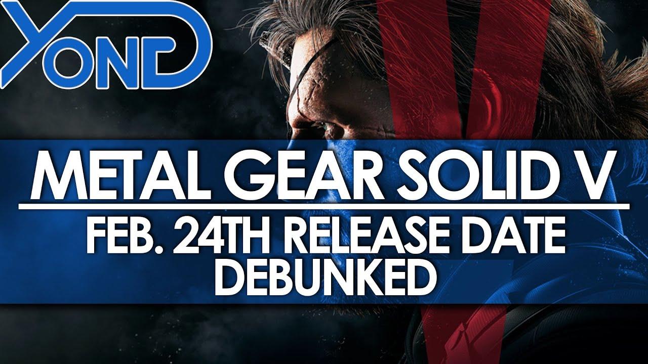Metal gear 5 release date