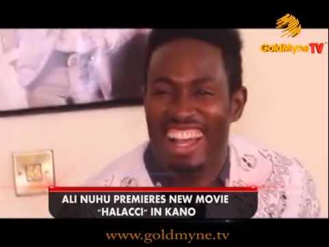 GOLDMYNETV: ALI NUHU PREMIERES NEW MOVIE HALACCI IN KANO