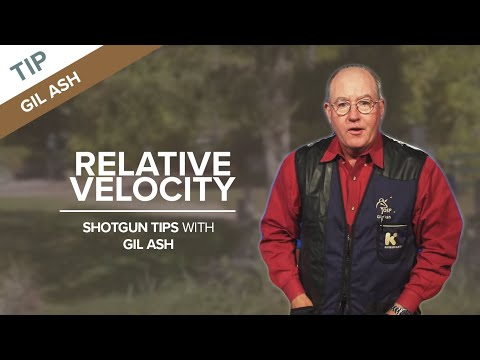 Slow Targets Down with Proper Gun Speed - Relative Velocity - Sporting Clays Tip