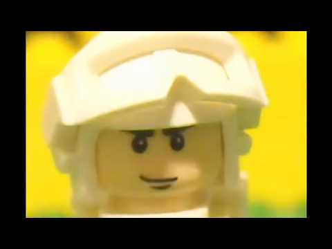 Lego Stop Motion - Battle of The Waverider