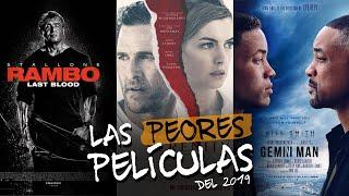 Las Peores Peliculas del 2019 | Parte 1 | #TeLoResumo