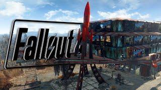 RED ROCKET RETREAT - Fallout 4 Full Settlement Build