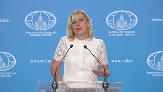 Белоруссия,Сирия и США! ВАЖНЫЕ заявления Марии Захаровой
