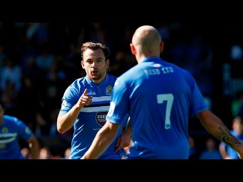 Danny Lloyd Free Kick Against Worcester City