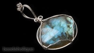 How to Do a Wire Wrapped Stone Setting by Wyatt White