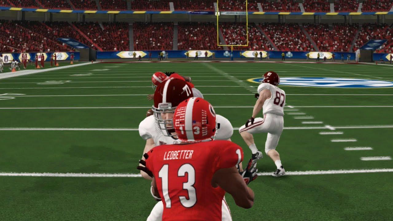 59eee24b485 NCAA Football 14 2017 2018 National Championship Alabama Crimson Tide vs  Georgia Bulldogs