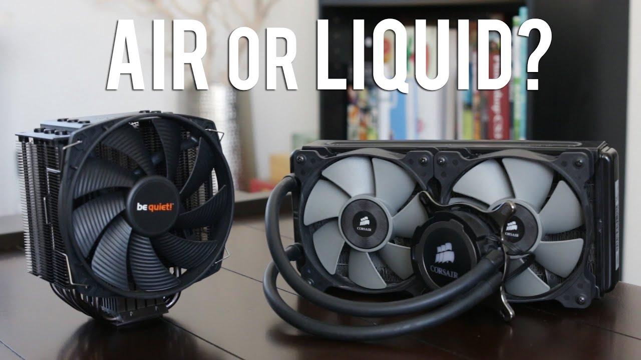 Liquid cooler vs Air cooler