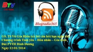 GS. TS Vu Gia Hien tra loi cau hoi | Blog Radio 365 #57