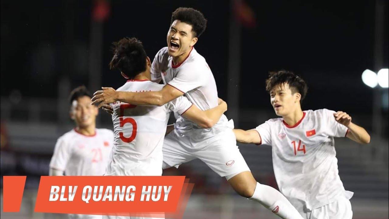 Highlights | U22 Singapore vs U22 Việt Nam | Hà Đức Chinh lại sắm vai người hùng | BLV Quang Huy
