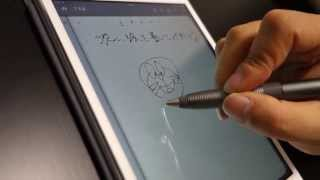 Jot Script Evernote EditionをiPad mini Retinaディスプレイモデルで使ってみた