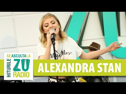 Alexandra Stan - Be The One (Dua Lipa) (Live la Radio ZU)