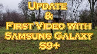 Baixar Update & First Video with the Samsung Galazy S9+