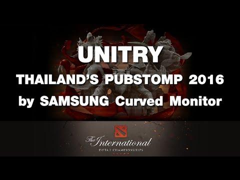 ภาพบรรยากาศงาน UNITRY Thailand Pubstomp 2016 by SAMSUNG Curved Monitor(TI6)
