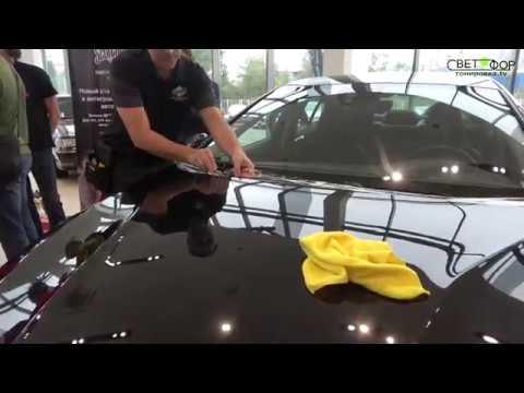 Обучение по оклейке авто антигравийной пленкой 3М ScotchGardPro .