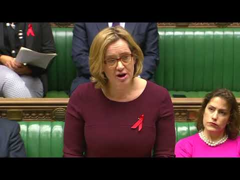 British Home Secretary slams Trump in parliament