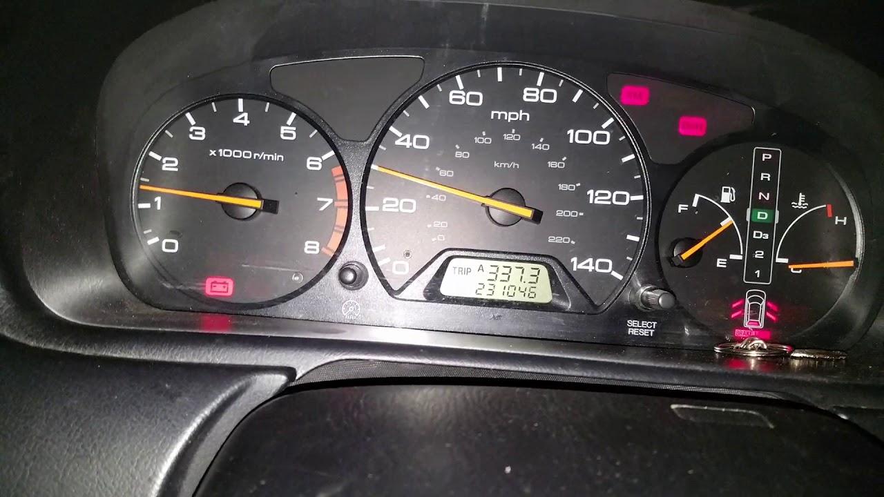Flashing Check Engine Light >> Honda odyssey flickering dash lights - YouTube