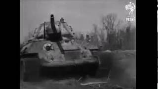 Как показывали русских во время войны в 1942 году в английской кинохронике