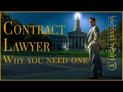 Why should you hire a lawyer to draft your contracts?