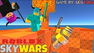 ROBLOX SKYWARS! (FULL OBSIDIAN SET)