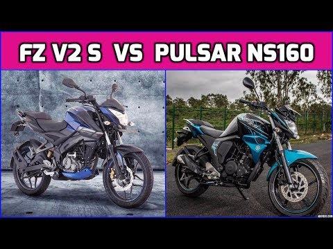 FZ Bike வாங்கலாமா இல்ல Pulsar NS160 Bike  வாங்கலாமா    Yamaha FZ Version 2 S Vs Pulsar NS 160 Bike