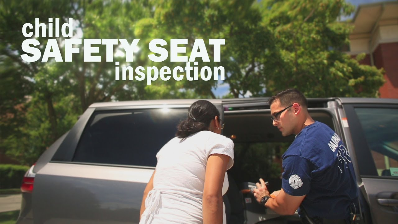 Fire Dept Offers Free Child Safety Seat Inspections