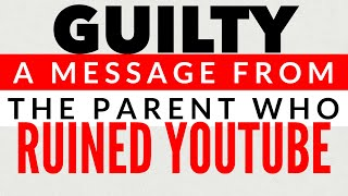 COPPA, the FTC, & PARENTS - WE RUINED YOUTUBE - Save Family Friendly Content on YouTube!