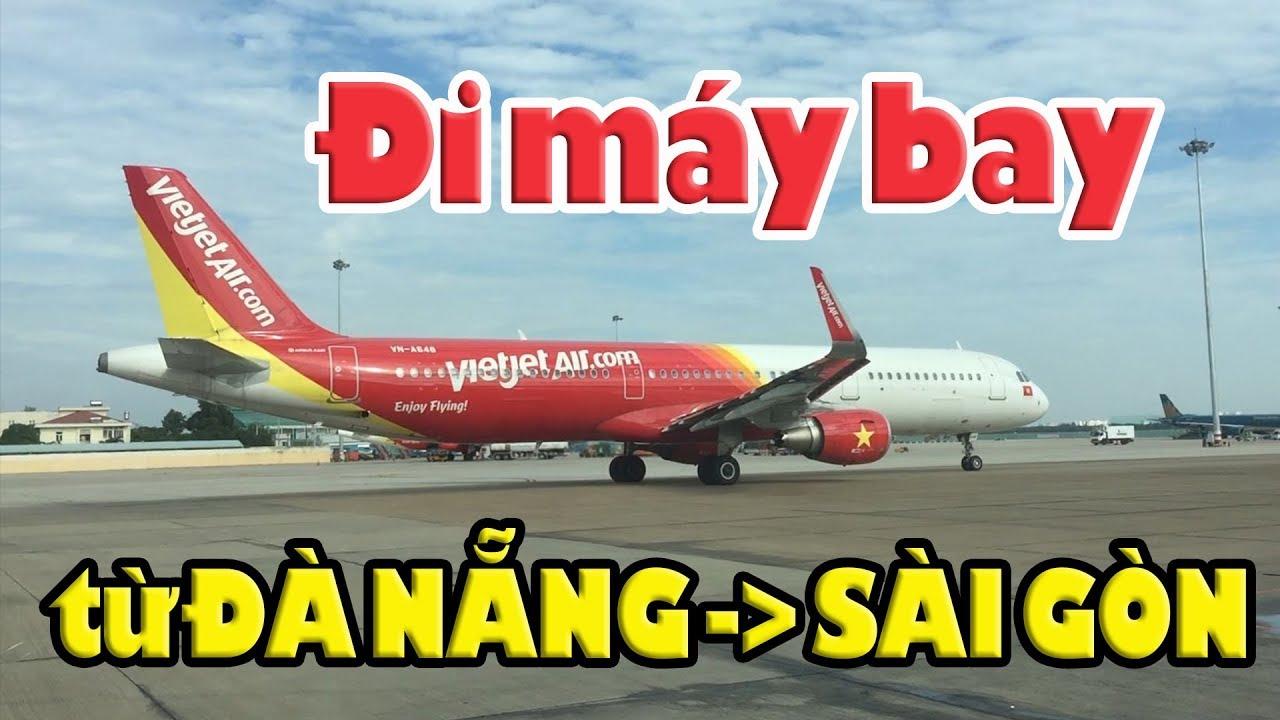 Fly From Danang to Saigon | Đi Máy bay từ Đà Nẵng về Sài Gòn